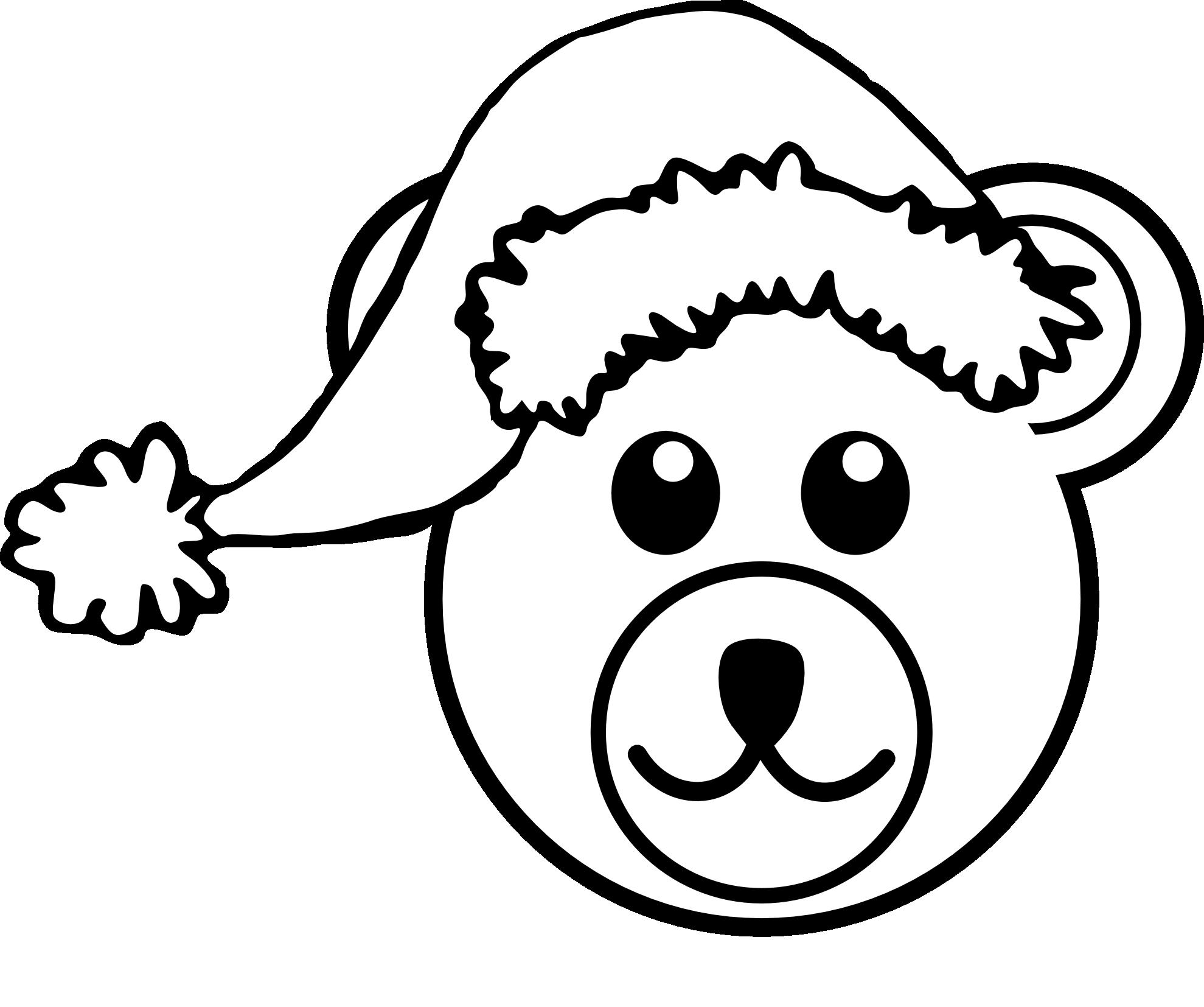1979x1654 Clip Art Palomaironique Bear Head Cartoon Brown