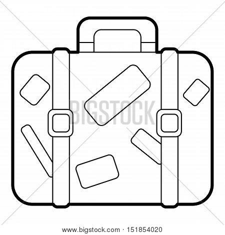 450x470 Old Suitcase Stickers Images, Illustrations, Vectors