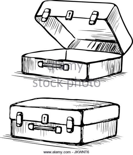 464x540 Open Suitcase Black And White Stock Photos Amp Images