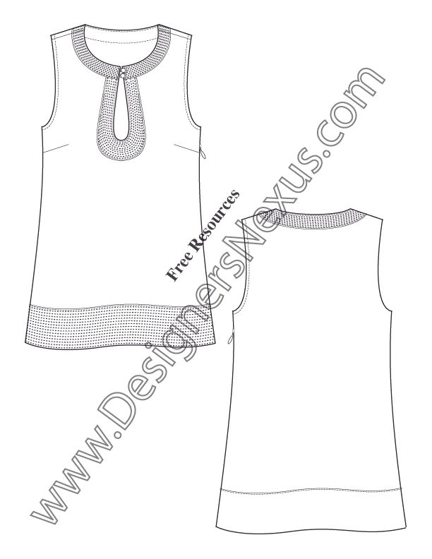 612x792 7 Best Flat Drawings Images On Fashion Design