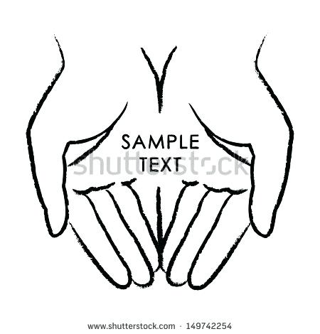 450x470 Open Source Clipart Open Praying Hands Collection Open Source