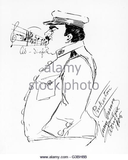 431x540 Caricature By Enrico Caruso Stock Photos Amp Caricature By Enrico