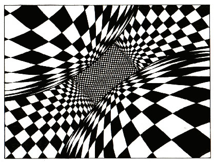 optical illusion op illusions drawing geometric deviantart vanity space getdrawings quilts nature club redux artwork negative