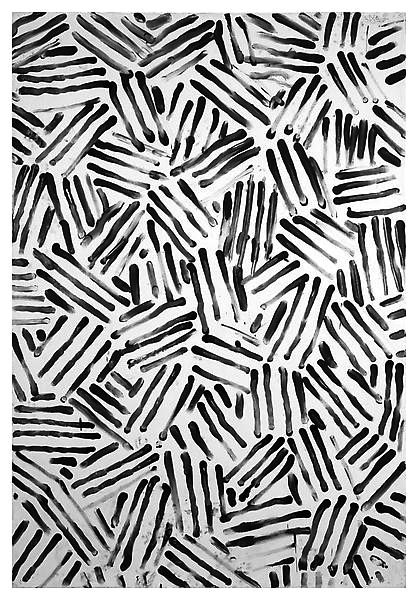 418x600 Sketchy Monochrome Surface Pattern Design