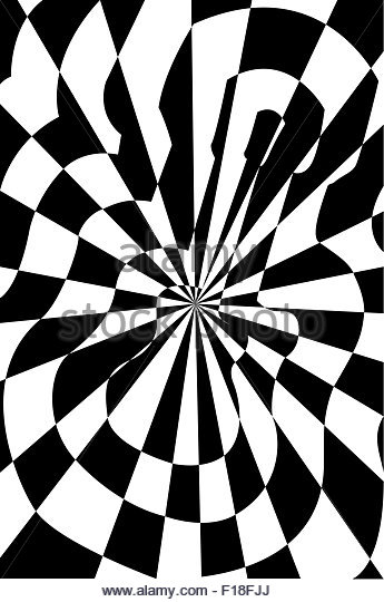 345x540 Optical Illusion Drawing Black And White Stock Photos Amp Images