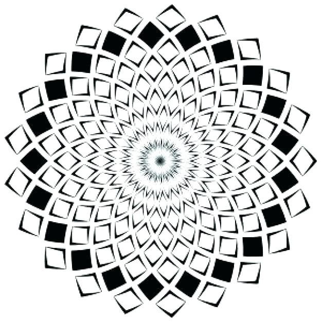 626x626 Optical Illusions Coloring Pages Optical Illusions Coloring Pages