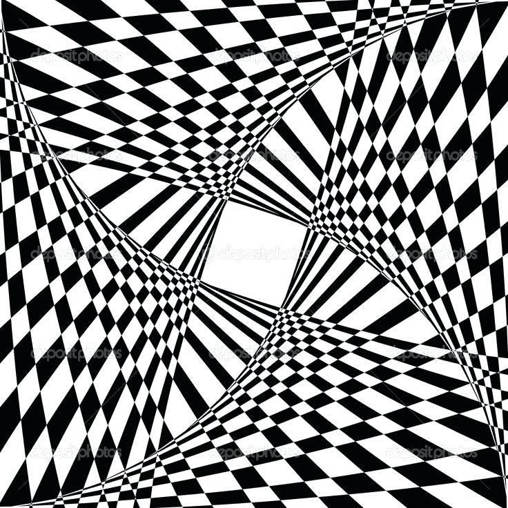 736x736 Drawn Optical Illusion Hard 2 9 Pencil And In Color Coloring Pages