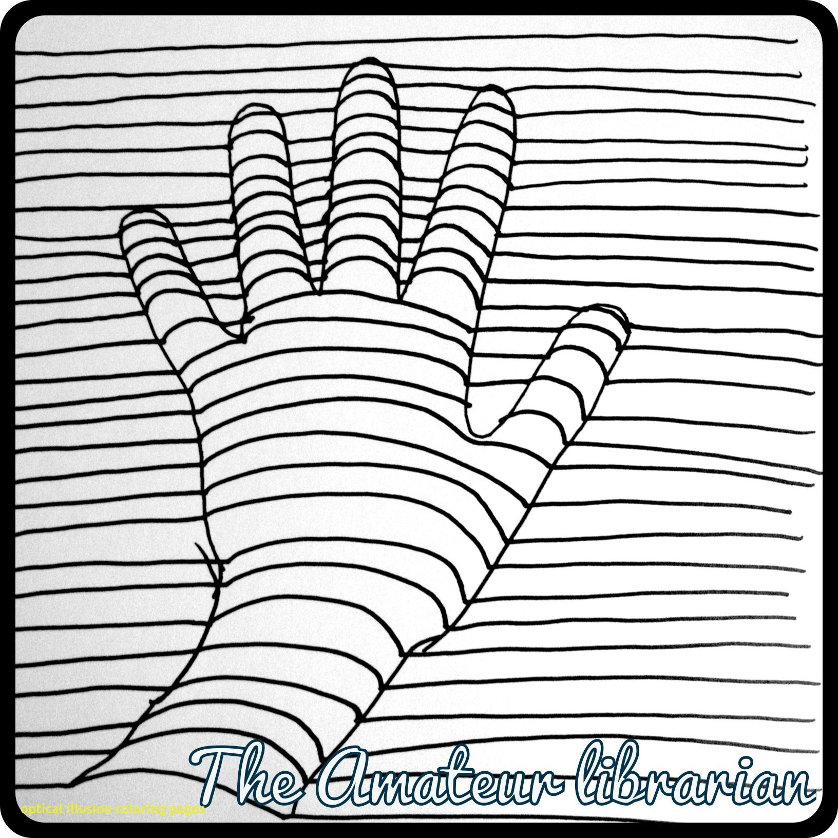 1632x1632 Optical Illusion Coloring Pages With Awesome Color Optical