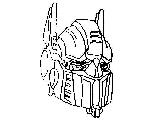 Optimus Prime Face Drawing at GetDrawings.com | Free for personal ...