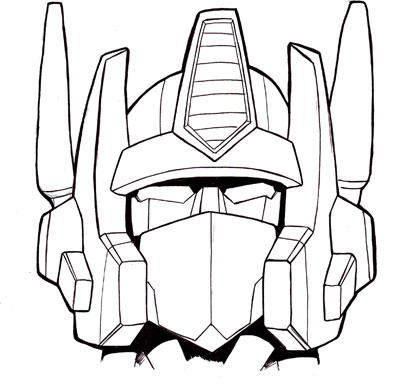 400x391 G1 Optimus Prime Head By Studiogdp