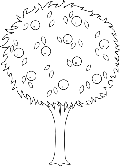Lemon Plant Coloring Page