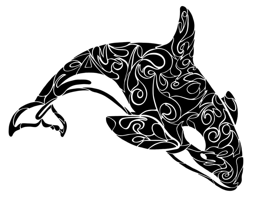 1013x788 Tribal Orca By Dessins Fantastiques