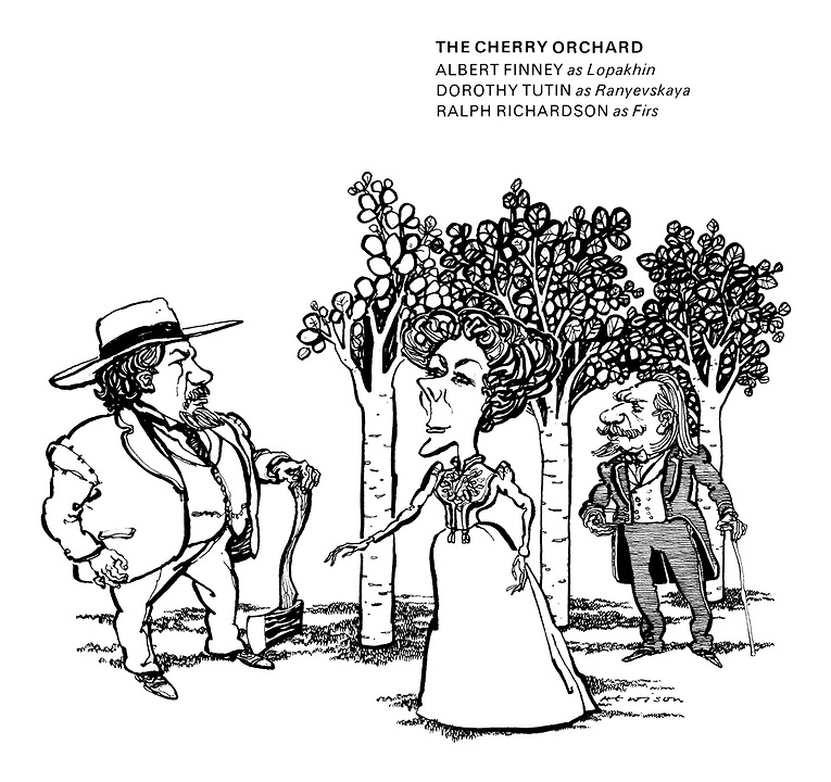 765x720 Theatre Cartoons From Punch Magazine By William Hewison Punch