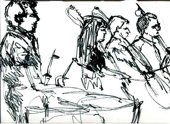 549x401 Columbus Symphony Orchestra Drawings