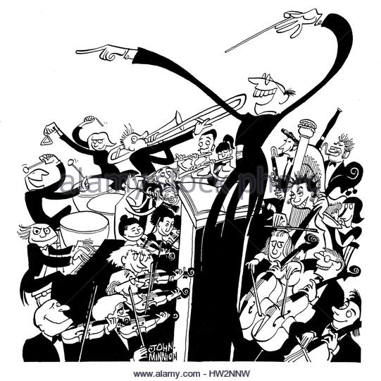541x540 Orchestra Conductor Illustration Stock Photos Amp Orchestra