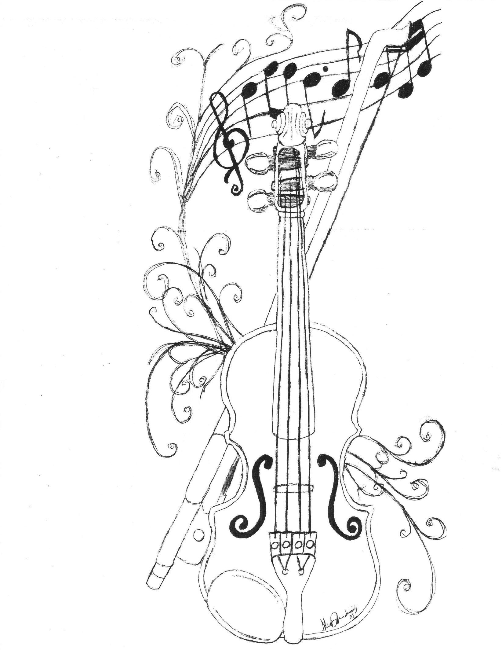 1644x2127 Orchestra Logo By Mabmeddowsmercury