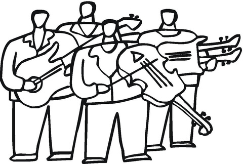 480x324 Orchestra With Violas Coloring Page Free Printable Coloring Pages