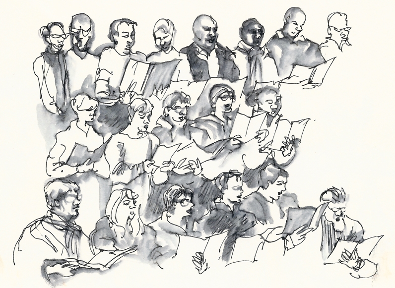 796x581 A Sketch In Time Symphony Choir And Orchestra