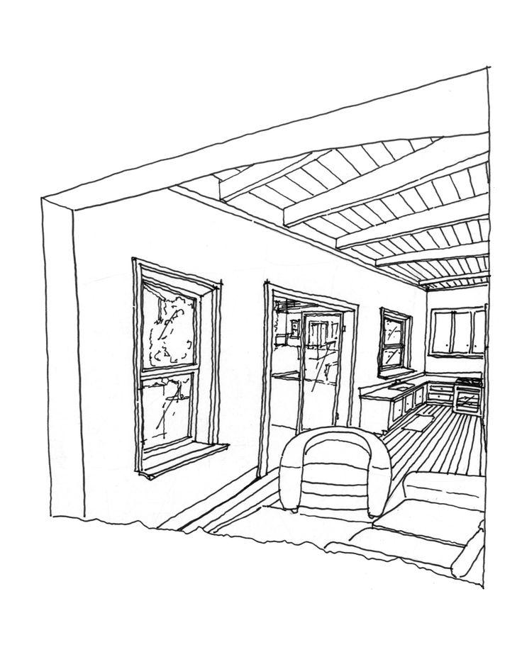 Oregon Drawing