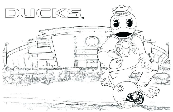 728x471 Free Oregon Ducks Coloring Pages Printable Duck For Kids Baby
