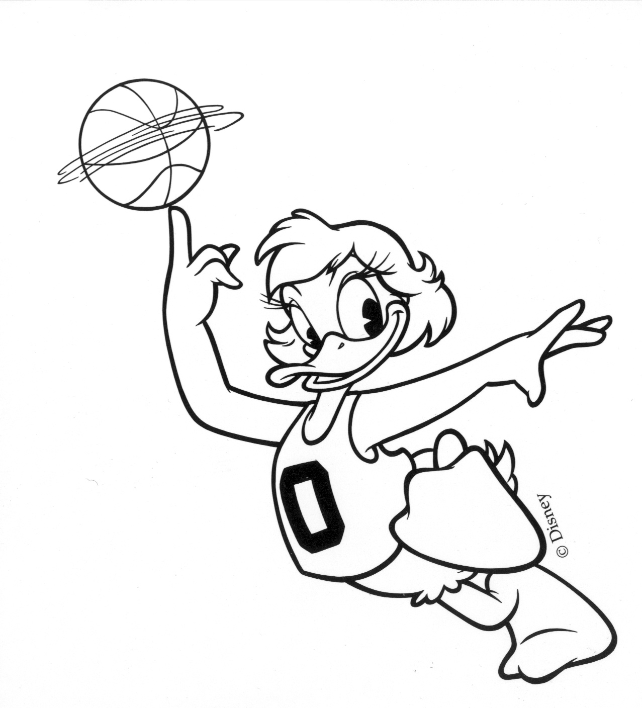 1277x1408 Old School Oregon Basketball Daisy Duck Logo The Duck Amp Friends
