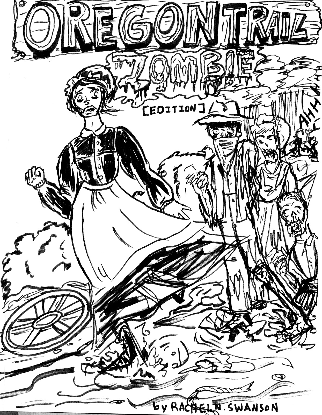 1244x1600 A Study In Making Oregon Trail Zombie Comic