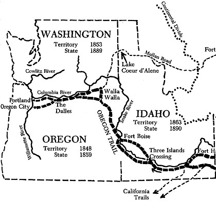 420x392 The Oregon Trail