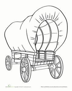 236x296 How To Draw A Covered Wagon Step By Step