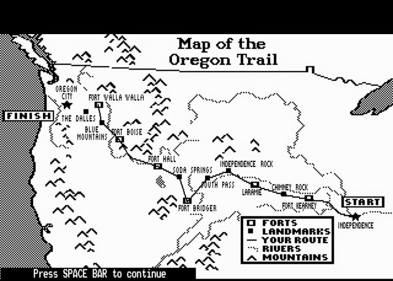 1280x914 The Oregon Trail ~ Jood Misconstrued