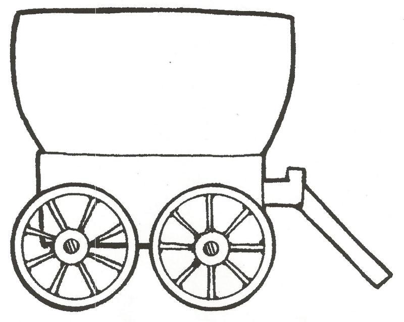 800x638 Clip Art Wagon Train