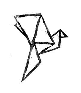 272x310 Origami Bird West Pinterest Birds And Tattoo
