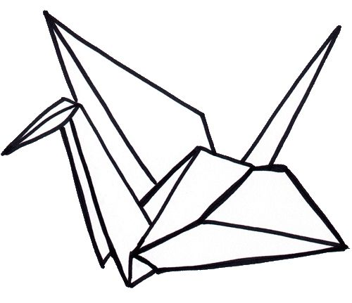 500x431 11 Best Kranich Images On Origami Cranes, Drawings