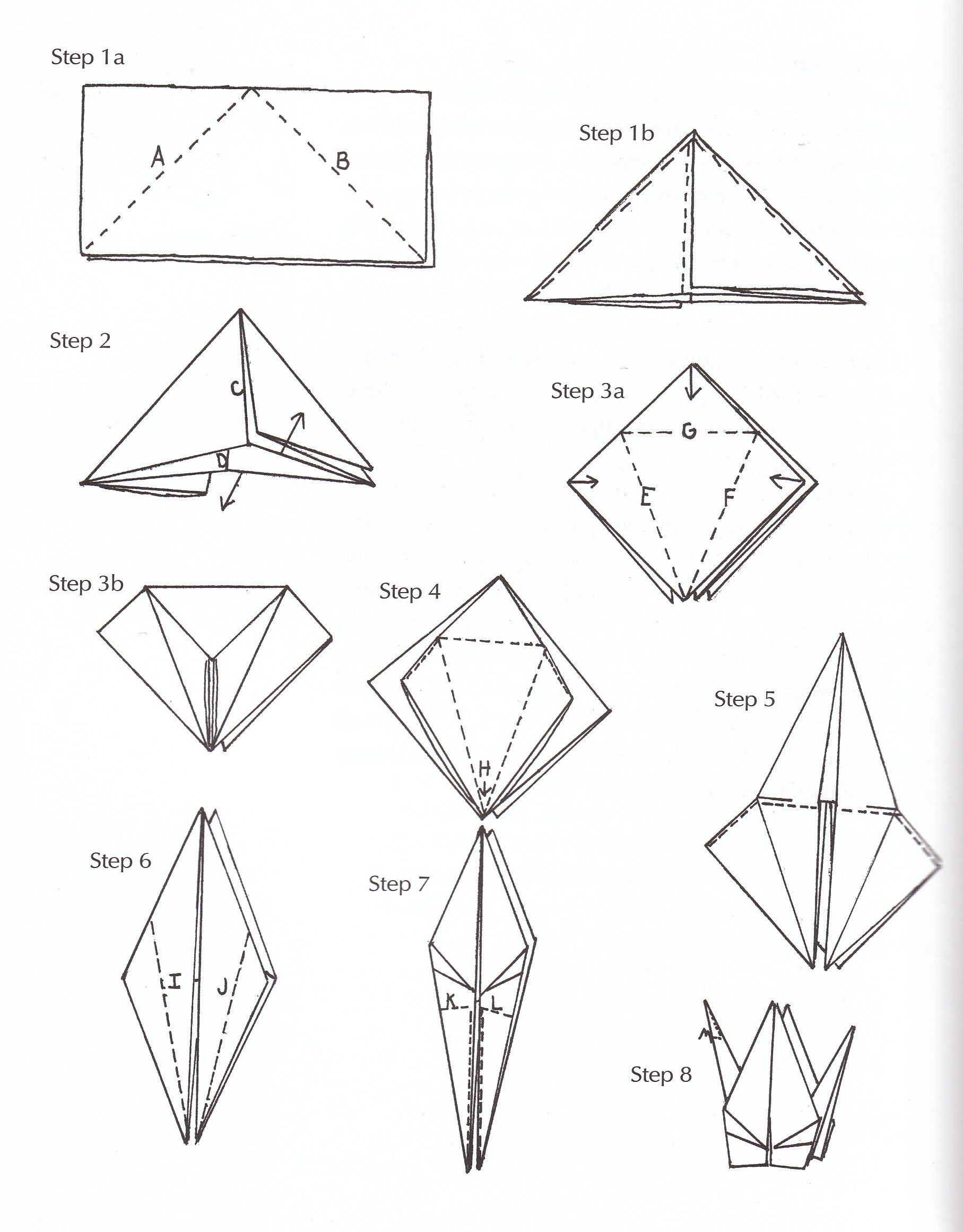 1815x2322 How Make A Easy Origami Crane How