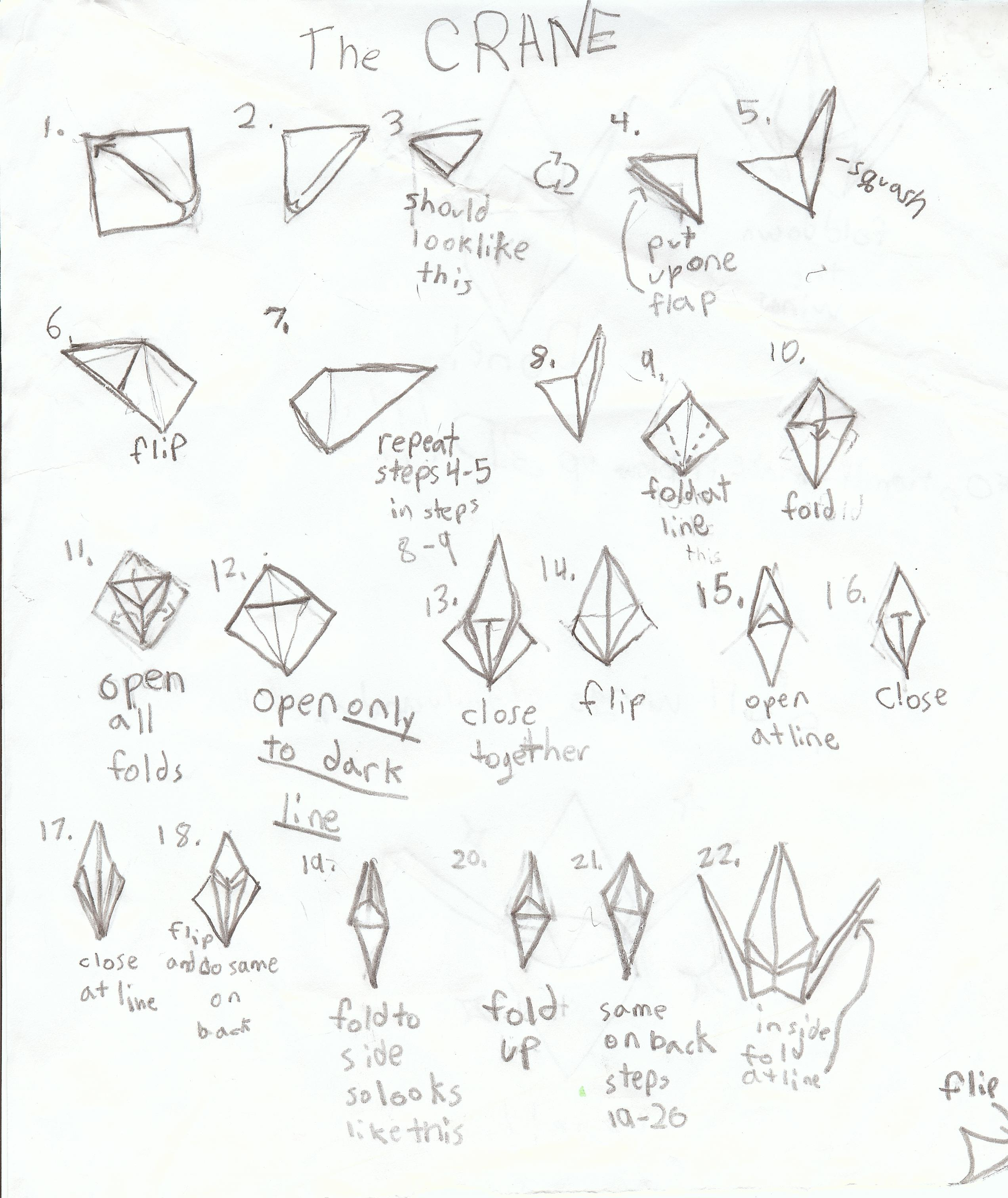 Cool Origami Crane Drawing At Getdrawings Com Free For Personal Use Wiring 101 Capemaxxcnl