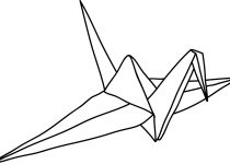210x150 Clip Art Origami Crane