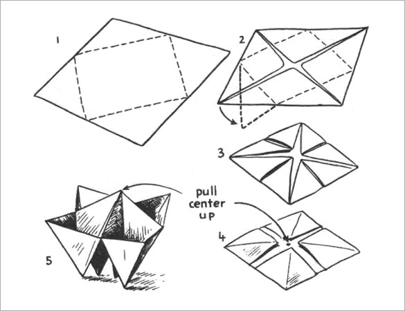 Origami Drawing
