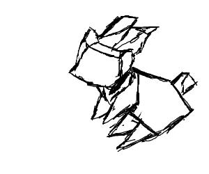 Origami Drawing At GetDrawings