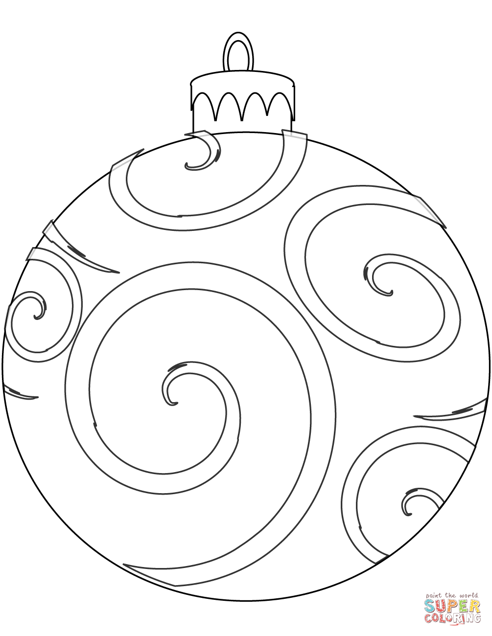 1005x1300 Holiday Ornament Coloring Page Free Printable Coloring Pages