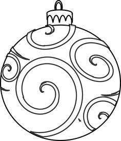 236x275 Printable Christmas Ornament Templates Christmas Tree Ornaments
