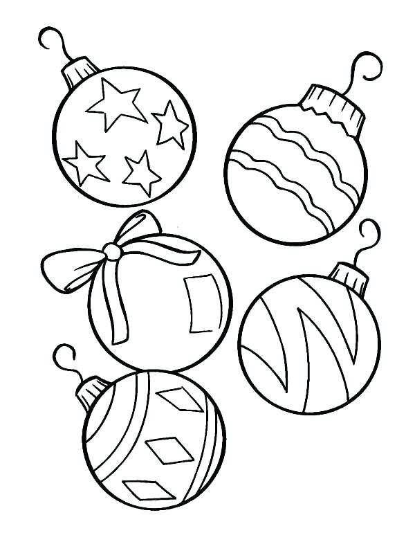 600x783 Ornament Coloring Pages To Print Synthesis.site