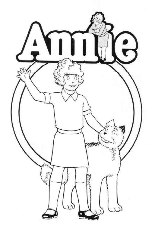 Jack and annie coloring pages ~ The best free Annie drawing images. Download from 177 free ...