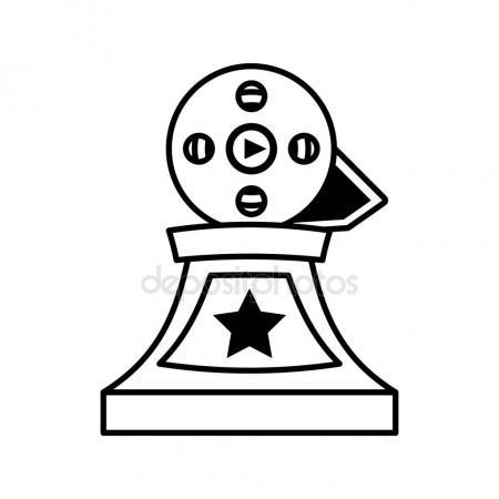 450x450 Oscar Statue Stock Vectors, Royalty Free Oscar Statue