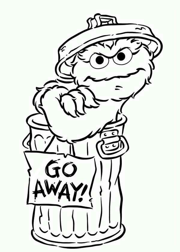 600x839 Oscar Coloring Pages Coloring Page For Kids