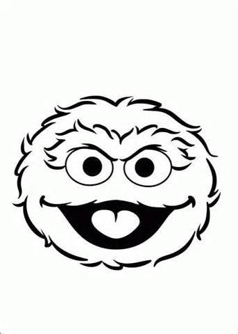 343x480 Oscar The Grouch Face Toppers