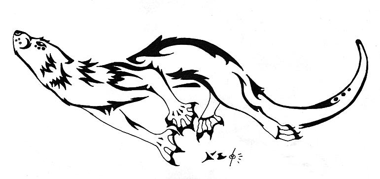 771x363 Otter Tattoo