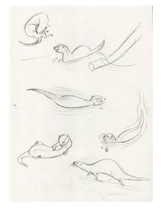 236x305 Resultado De Imagen Para How To Draw Otters Cosas