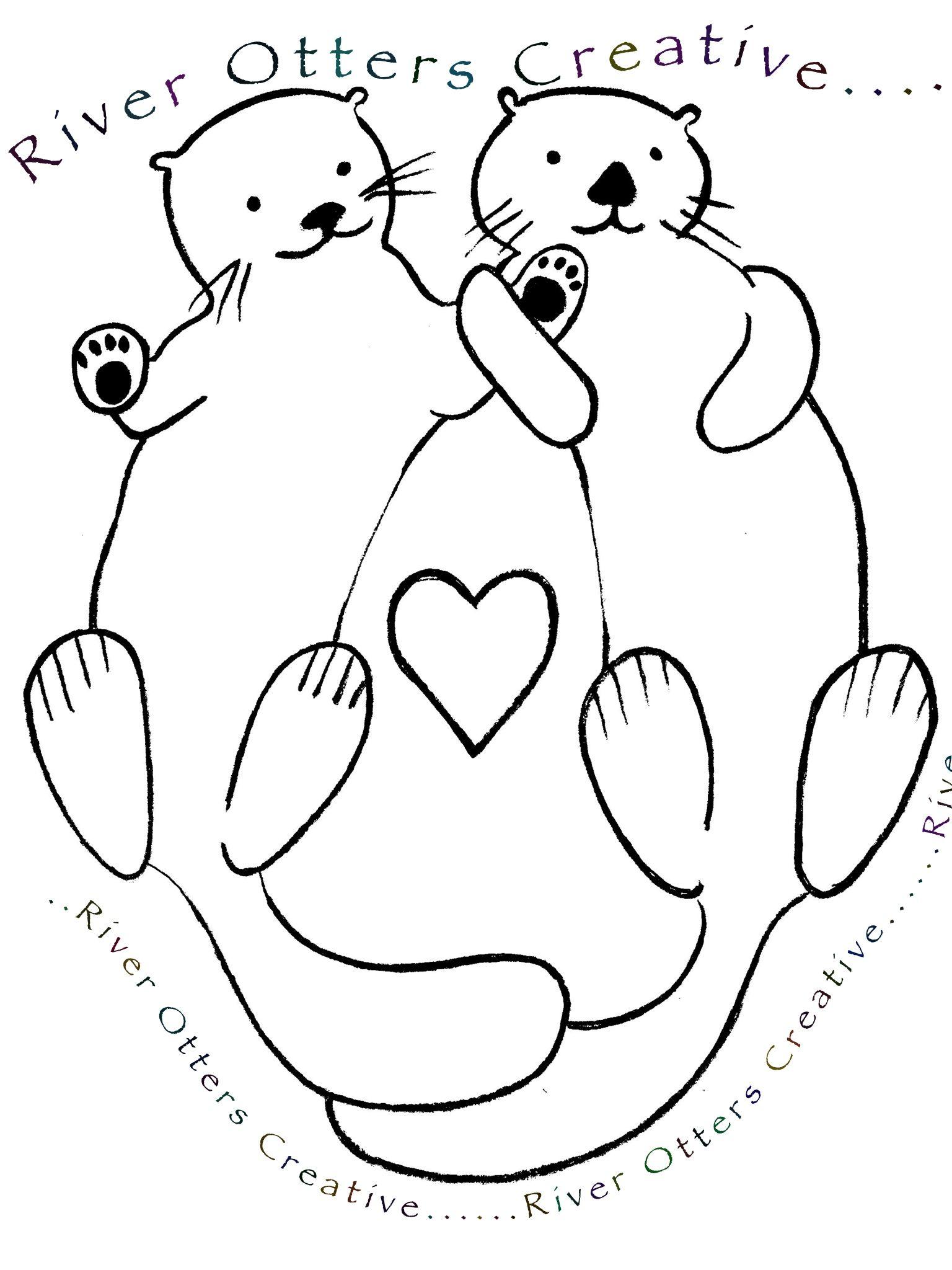 1536x2048 Lavenderheather River Otters Creative