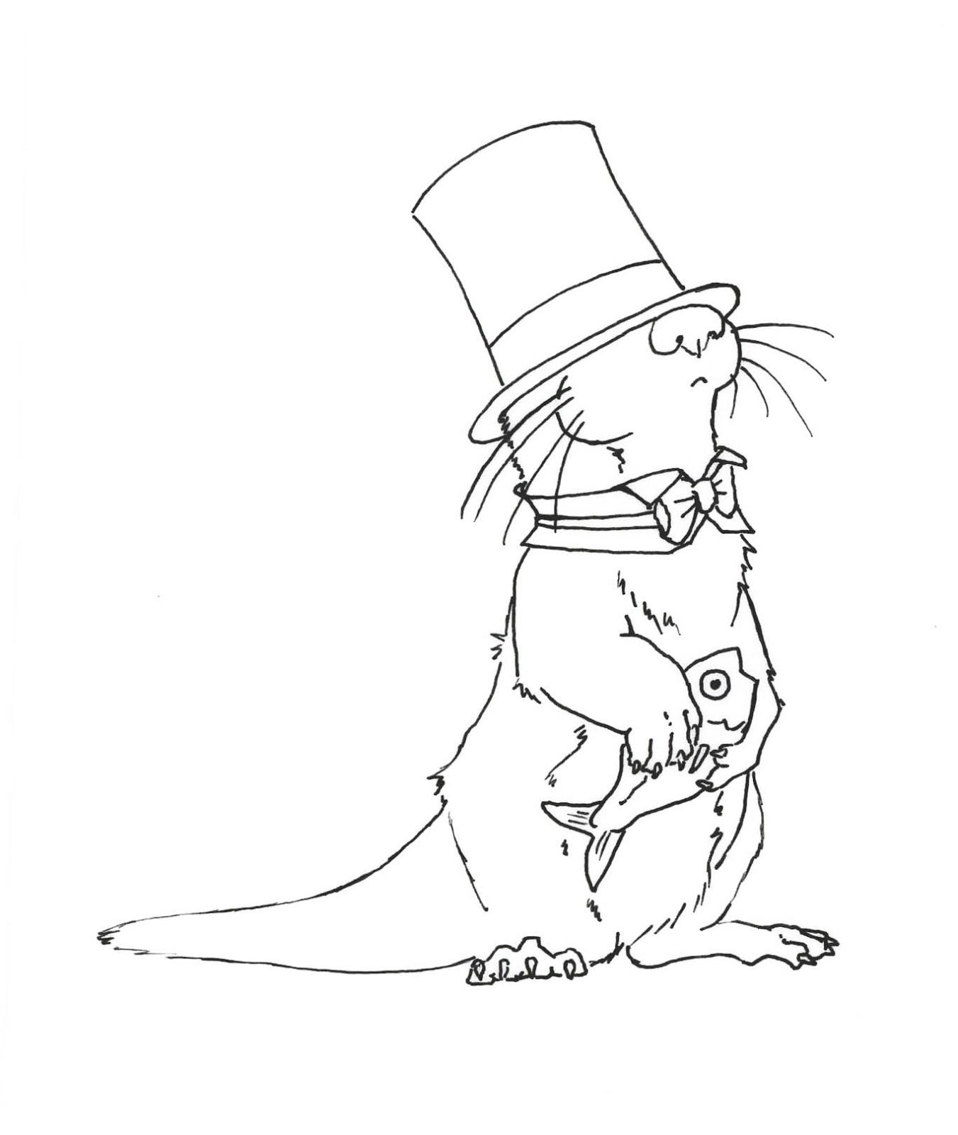 1351x1600 Carey Bowden Art Sir Otter