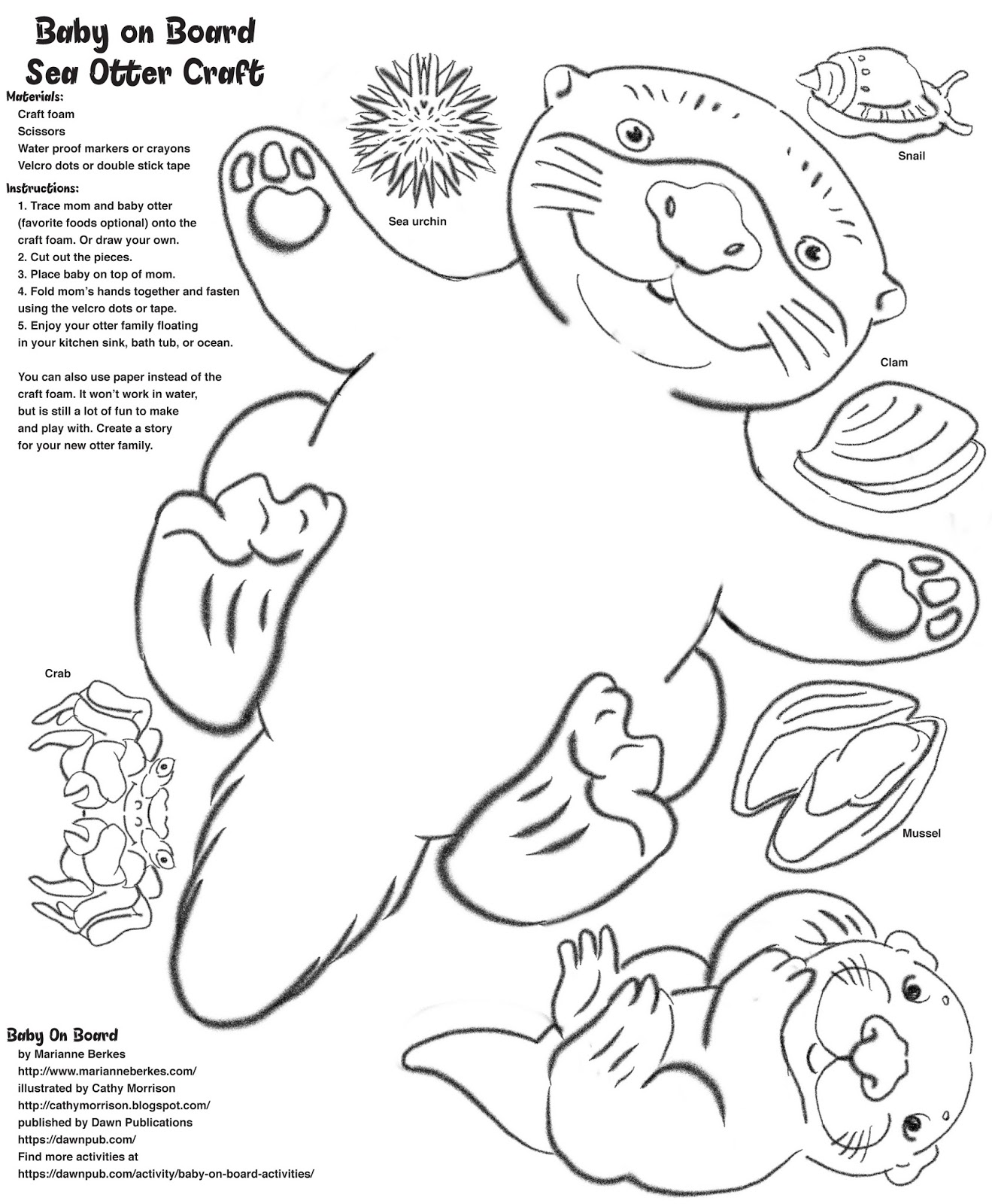 Otter Outline Drawing at GetDrawings.com | Free for personal use ...