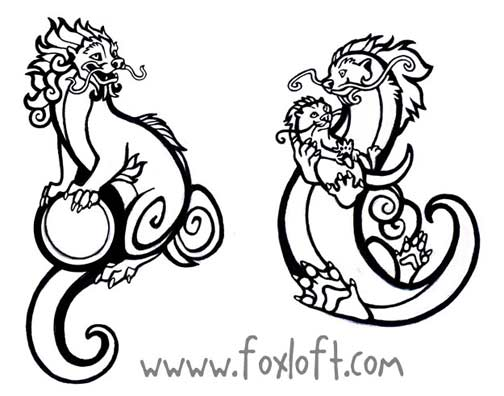 504x396 Guardian Otter Tattoos By Foxfeather248